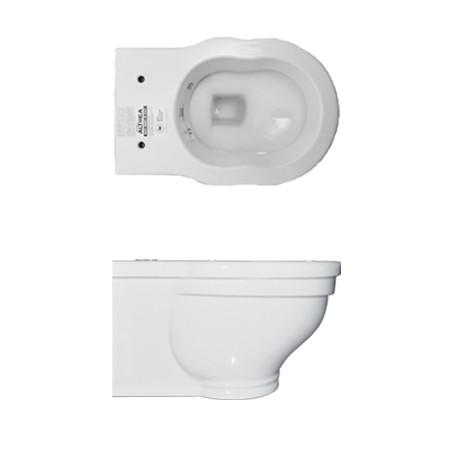 Vaso WC Althea Royal Sospeso Bianco