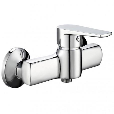 Outside shower mixer tap single lever Chrome