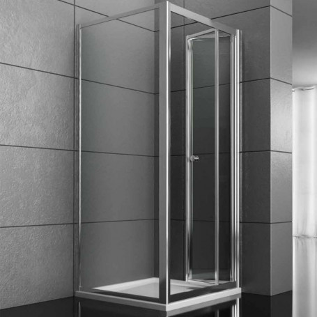 Fixed Side Box Shower Book Suitable for door Bellows Book Various Sizes Crystal Hardened
