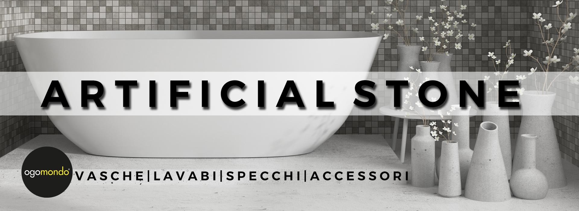 accessori arredi artificial stone, marmo artificiale, pietra artificiale
